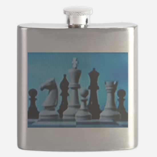 CHESS LOVE™ Flask