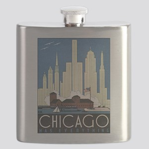 Chicago Waterfront Flask