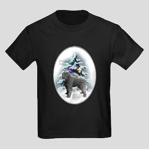 Bouvier des Flandres Christmas Kids Dark T-Shirt
