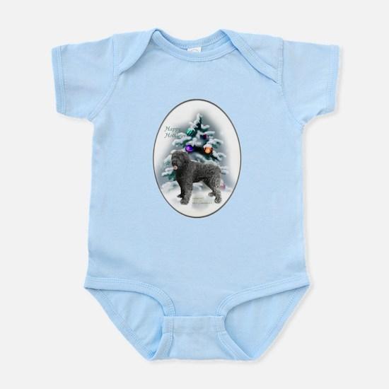 Bouvier des Flandres Christmas Baby Light Bodysuit