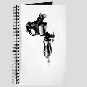 Tattoo Machine Gun Pop Art Journal