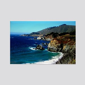 Big Sur on the Pacific Coast Rectangle Magnet