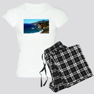 Big Sur on the Pacific Coast Women's Light Pajamas