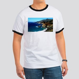 Big Sur on the Pacific Coast Ringer T