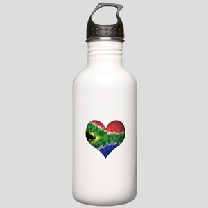 South African heart Stainless Water Bottle 1.0L