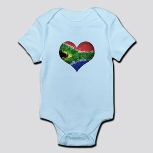 South African heart Infant Bodysuit