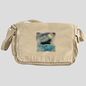 Cosmic Earth Messenger Bag