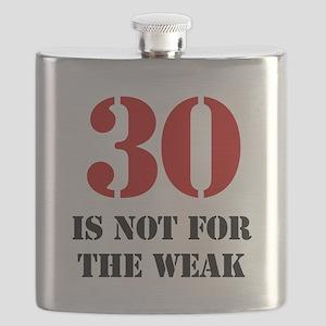 30th Birthday Gag Gift Flask