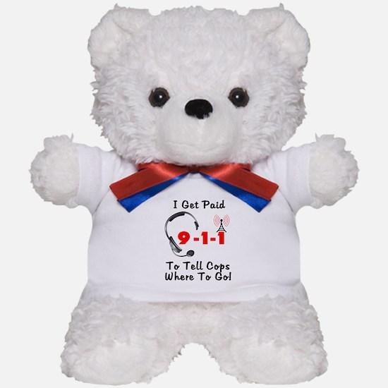 9-1-1 Dispatcher Teddy Bear
