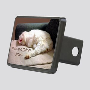 Rise And Shine? Nope. Rectangular Hitch Cover
