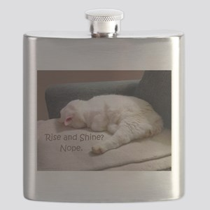 Rise And Shine? Nope. Flask