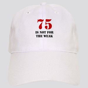 75th Birthday Gag Gift Cap