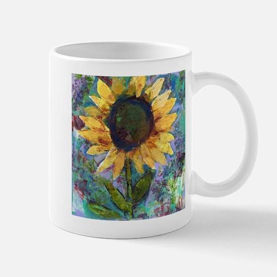 Sunflower Sunday Art Mug