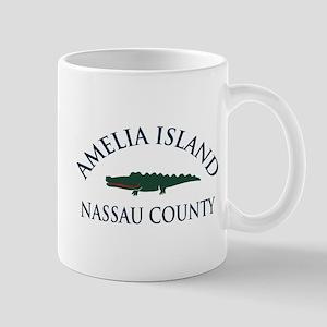 Amelia Island - Alligator Design. Mug