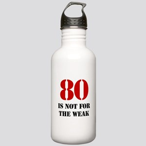 80th Birthday Gag Gift Stainless Water Bottle 1.0L