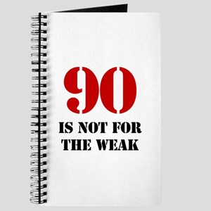 90th Birthday Gag Gift Journal