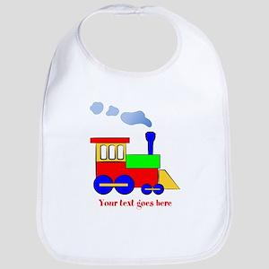 Personalize Choo Choo Train Engine Bib