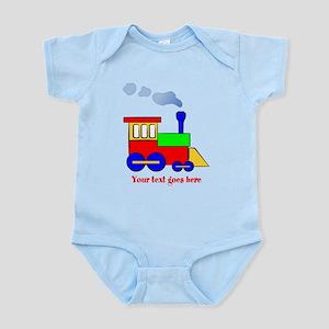 Personalize Choo Choo Train Engine Infant Bodysuit
