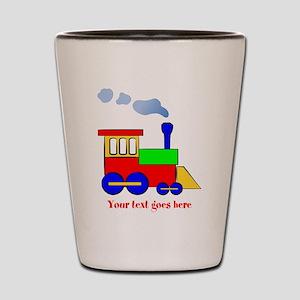 Personalize Choo Choo Train Engine Shot Glass
