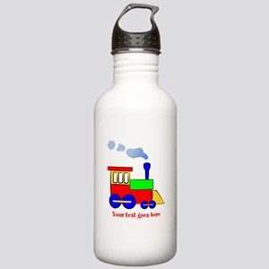 Personalize Choo Choo Train Engine Stainless Water