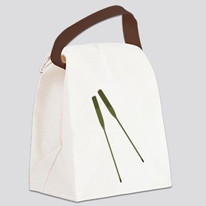 Rowing Oars Canvas Lunch Bag