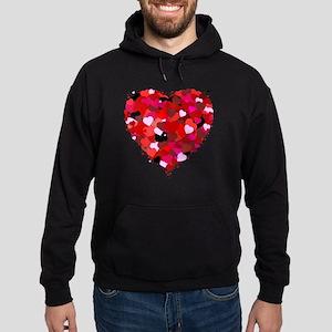 Bunch Of Hearts Hoodie (dark)