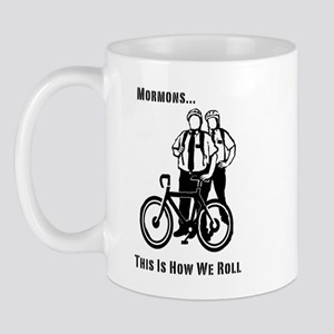 Mormons:This Is How We Roll Mug