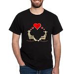 Hearts Rock Dark T-Shirt