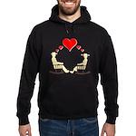 Hearts Rock Hoodie (dark)