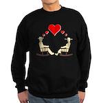 Hearts Rock Sweatshirt (dark)