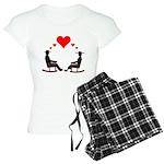 Hearts Rock Women's Light Pajamas