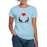 Hearts Rock Women's Light T-Shirt