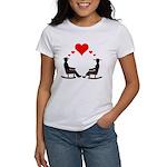 Hearts Rock Women's T-Shirt
