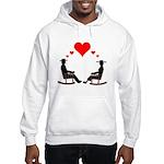 Hearts Rock Hooded Sweatshirt