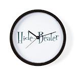 Hide-Beater Wall Clock
