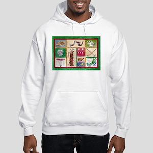 Golf Collage Hooded Sweatshirt