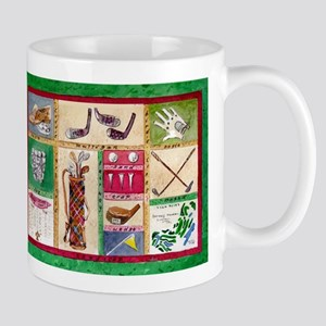 Golf Collage Mug