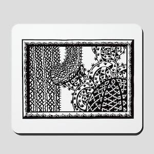 Celtic Cactus Mousepad