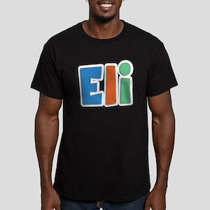 Eli Spring11B Men's Fitted T-Shirt (dark)