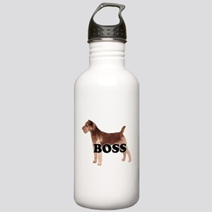 WELSH TERRIER BOSS Stainless Water Bottle 1.0L