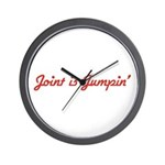 Joint is Jumpin' Wall Clock