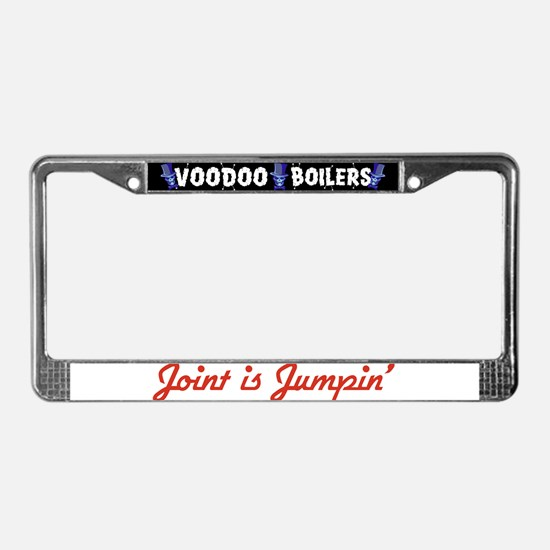Joint is Jumpin' License Plate Frame