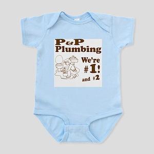 P P Plumbing Infant Bodysuit