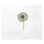 Himawari - Zen Sunflower King Duvet