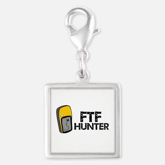 FTF Hunter Silver Square Charm