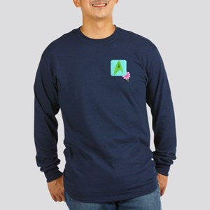 2-sided NCC-1701 Long Sleeve Dark T-Shirt