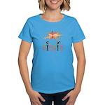 Step it up - Step Aerobics Women's Dark T-Shirt