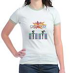 Step it up - Step Aerobics Jr. Ringer T-Shirt