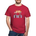 Step it up - Step Aerobics Dark T-Shirt