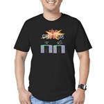 Step it up - Step Aerobics Men's Fitted T-Shirt (d